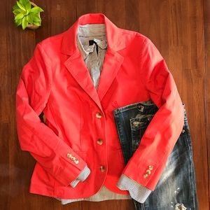 Coral L.L. Bean blazer